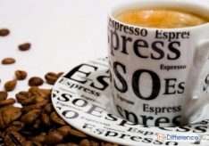 Разница между американо и эспрессо
