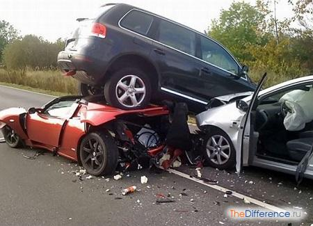 отличие аварии от катастрофы