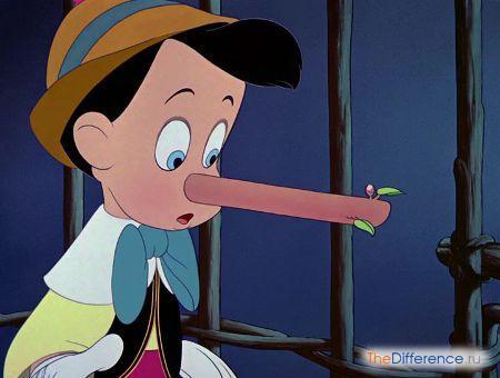 отличие Буратино от Пиноккио