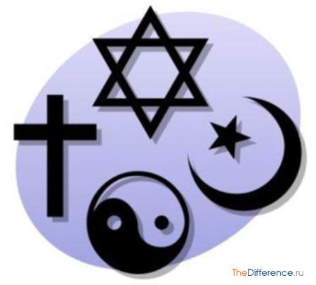 отличие философии от мифологии и религии