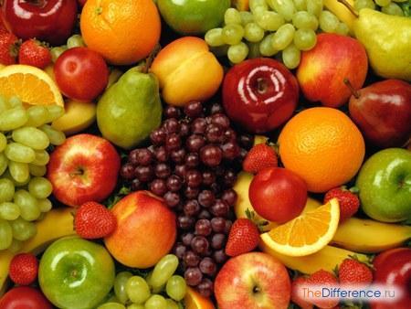 разница между фруктом и ягодой