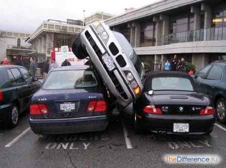 отличие парковки от стоянки