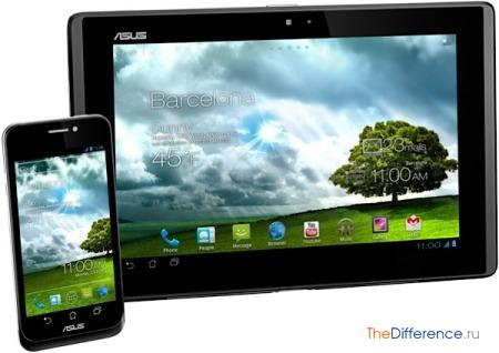 отличие смартфона от планшета