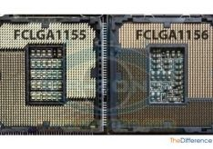 Разница между socket 1155 и 1156