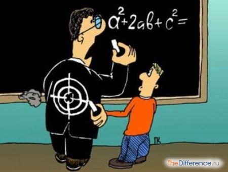 отличие учителя от преподавателя