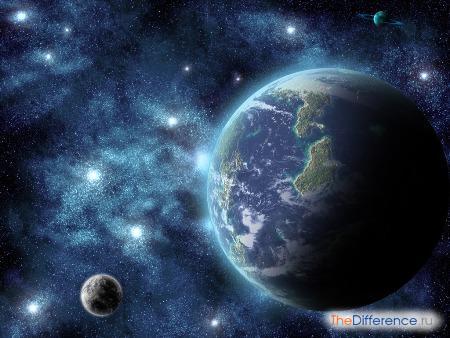 отличие Земли от других планет