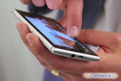 Фронтальная часть Nokia Lumia 925