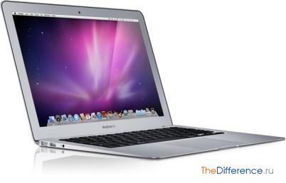 отличие MacBook Pro от MacBook Air