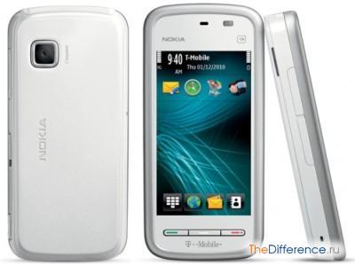 отличие Nokia 5230 от Nokia 5228