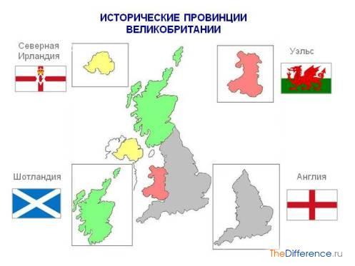 Чем отличается Англия от Великобритании