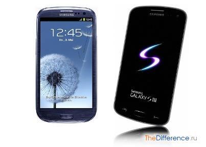 разница между iPhone 5 и Samsung Galaxy S3