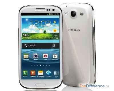 отличие Samsung Galaxy S3 от Samsung Galaxy S4