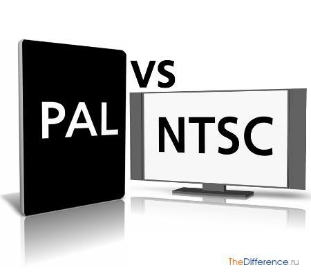 отличие формата PAL от NTSC