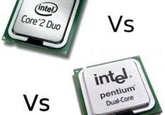 Разница между Pentium Dual Core и Core 2 Duo