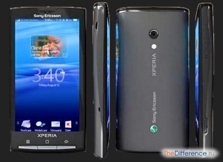 отличие Sony от Sony Ericsson