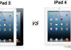 Разница между iPad3 и iPad4