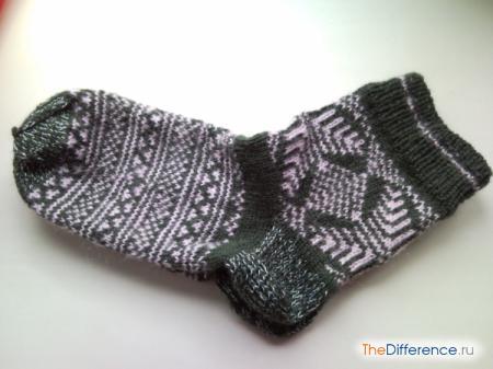 отличие формы носок от носков