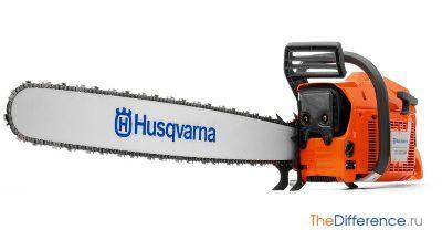 Профессиональная бензопила Husqvarna
