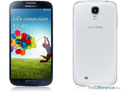 разница между Samsung Galaxy S3 и Samsung Galaxy S4