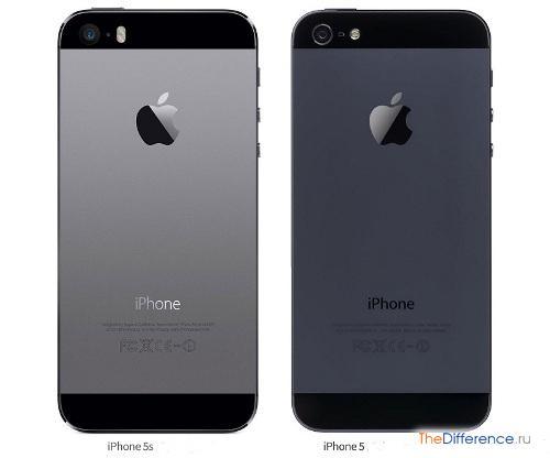 отличие iPhone 5 от iPhone 5S
