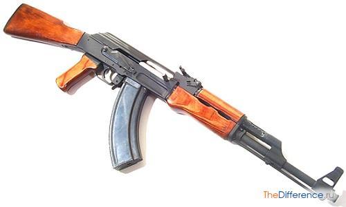 отличие автомата от пулемета
