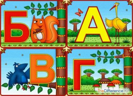 отличие между азбукой и алфавитом