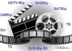Разница между BDRip и HDRip