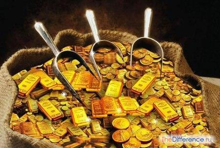 отличие богатства от благосостояния