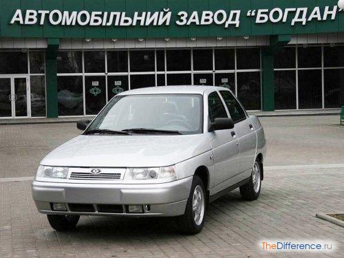 разница между Богдан-2110 и ВАЗ-2110
