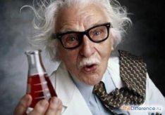 Разница между экспериментом и наблюдением