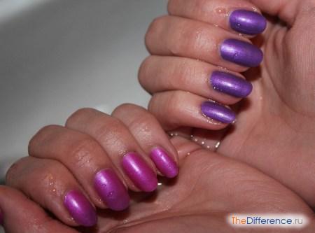 отличие фиолетового цвета от сиреневого