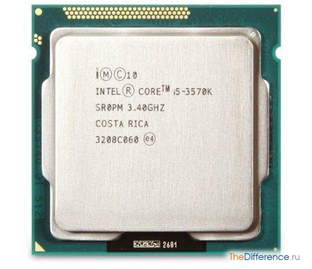 отличие процессора Intel 3570 от 3570k