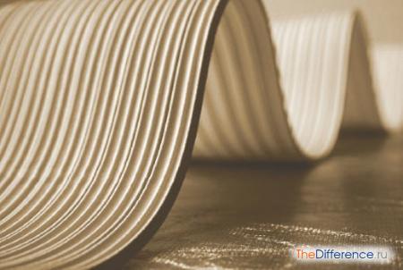 отличие каучука и резины