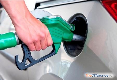 отличие крекинг бензина от бензина