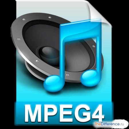 отличие MP4 от MPEG4