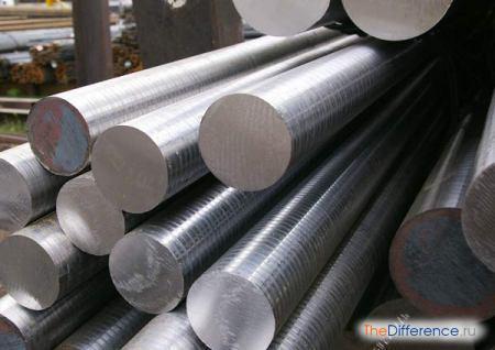 отличие стали и железа