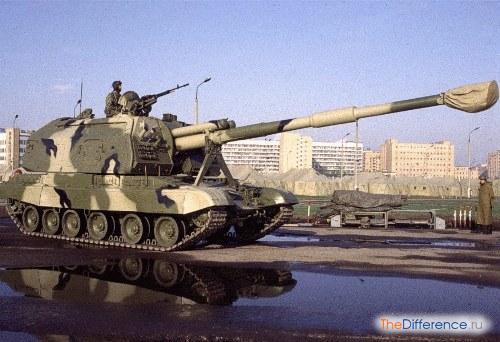 разница между танком и САУ
