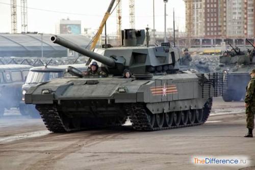 отличие танка от САУ