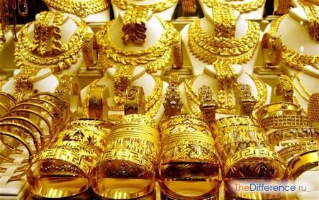 отличие турецкого золота от российского