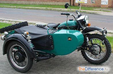 разница между мотоциклами Днепр и Урал