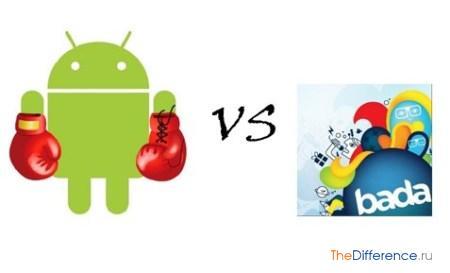 отличие Android от Bada