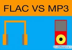 Разница между flac и mp3