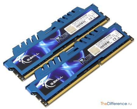 отличие GDDR3 от DDR3