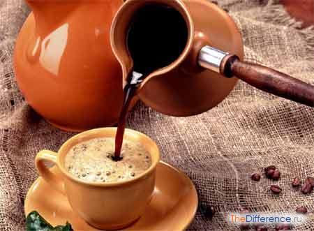 разница между кофе эспрессо и другими видами кофе