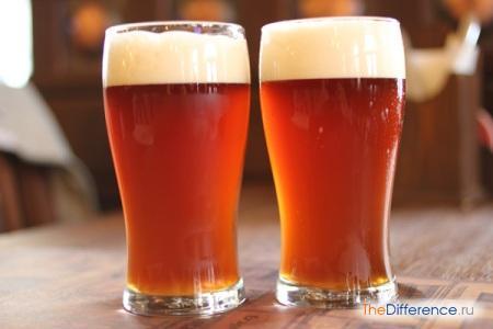 отличие нефильтрованного пива от фильтрованного