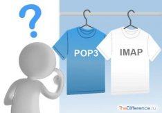 Разница между POP3 и IMAP