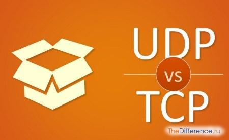 отличие TCP от UDP
