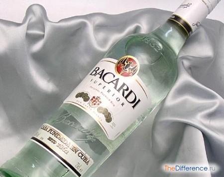 отличие рома от виски