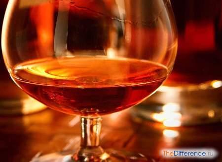 отличие виски от бренди
