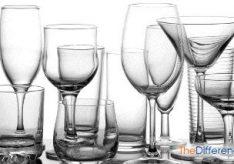 Разница между бокалом и фужером